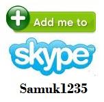 skype button banner